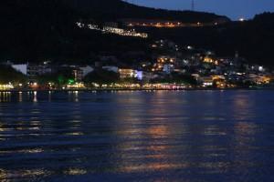 Bucht vor Nafpaktos mit Blick auf die Burg
