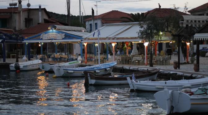 Fischereihafen von Trizonia