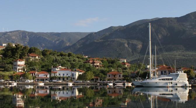 Marina auf Trizonia