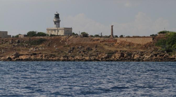 Leuchtturm am Kap Colonne