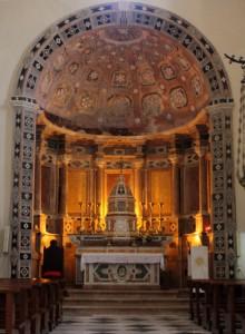 Altar in der Kathedrale von Gerace
