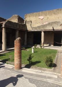 Atrium in Herculaneum