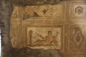 Deckenverzierung in Herculaneum