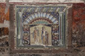 Mosaik in Herculaneum