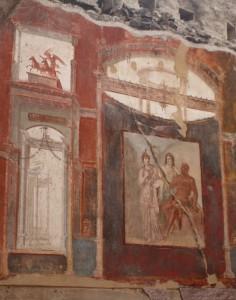 Wandgemälde in Herculaneum