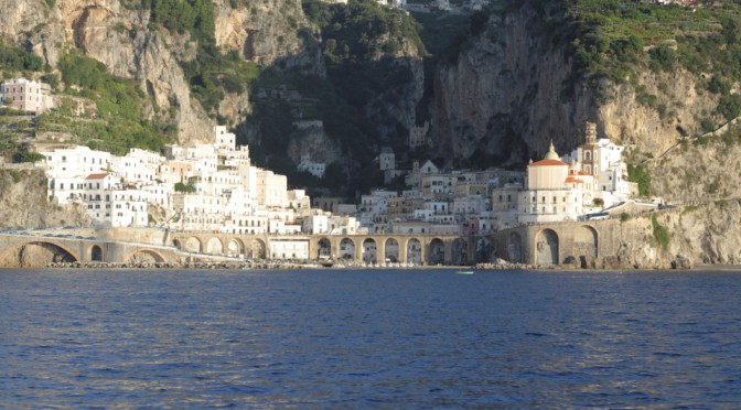 Amalfi – gerne von Ferne