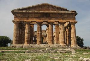 Poseidon Tempel in Paestum