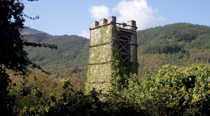 Alter Turm in Trecchina