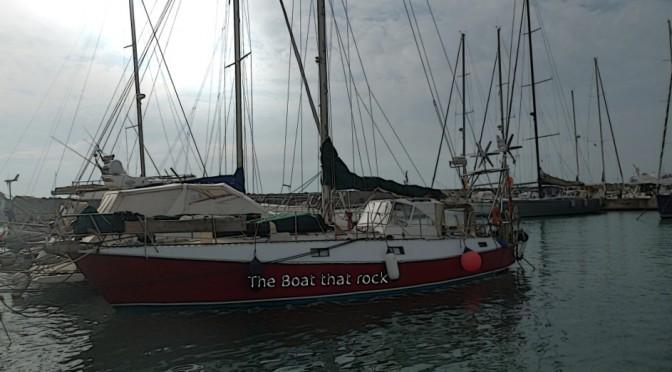 Partyboot im Porto di Roma