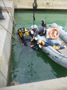Rettungsversuch Jet-Ski