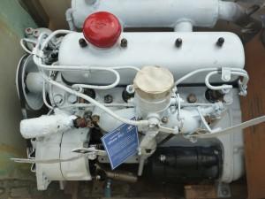 gestrichener Motor