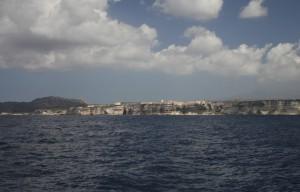 Blick auf Bonifacio