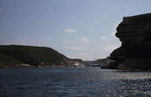 Fjord nach Bonifacio