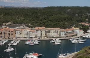 Hafenansicht Bonifacio