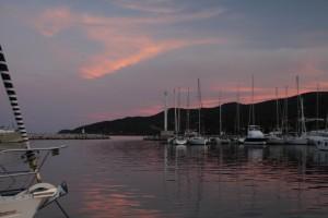 Hafeneinfahrt Solenzara