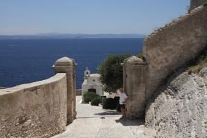 Eingang zur Festung von Bonifacio