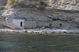 Fischerhütten Cala Llentrisca