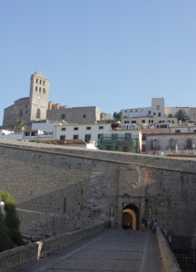 Ibiza Stadt Kathedrale