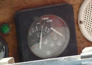 elektrisch gemessener Öldruck