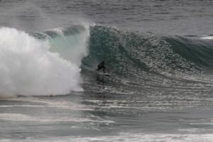 Surfen in der Praia do Norte