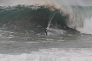 Surf-Vergnügen in Nazaré