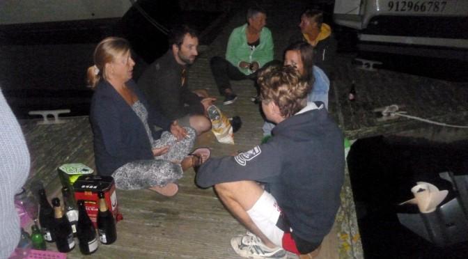 Schwimmsteg-Partys