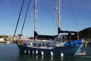 Farewell SV Blue Calypso