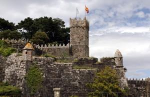Festungsanlage in Baiona