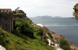 Festung Baiona und Isla Cies
