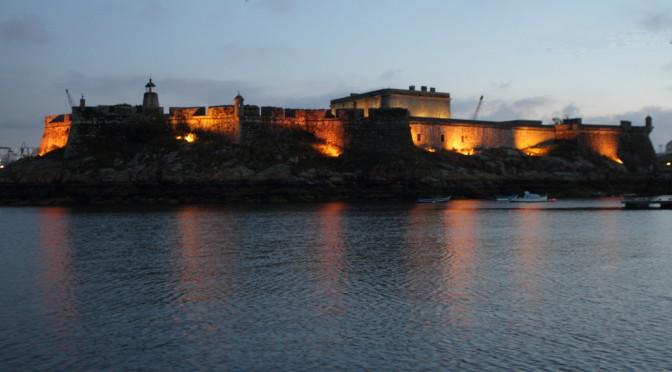 Nachtfahrt nach A Coruña