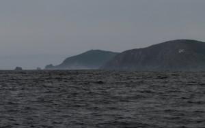 Kap Finisterre mit Nebel