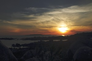 Sonnenuntergang San Vincente do Mar