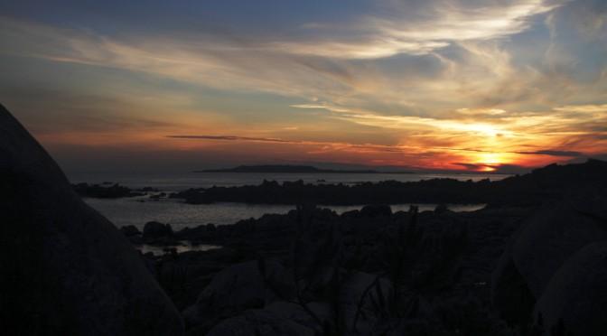 Sonnenuntergang in San Vincente do Mar