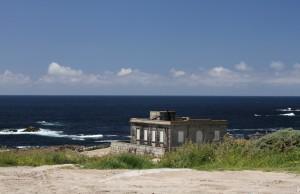 alter Leuchtturm am Cabo Silleiro