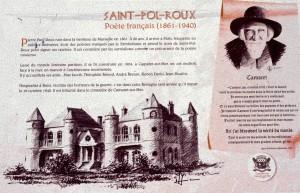 Tafel zur Villa de Saint-Pol-Roux