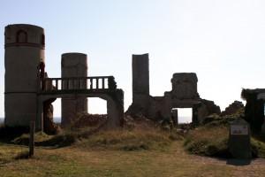 Ruine der Villa de Saint-Pol-Roux bei Camaret sur Mer