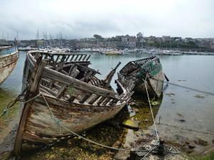 Schiffsfriedhof in Camaret sur Mer