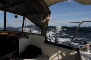 Welle auf der Biskaya