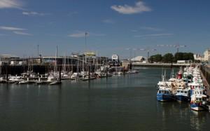 Hafen von Boulogne sur Mer