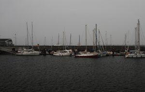 Hafenplatz auf Helgoland