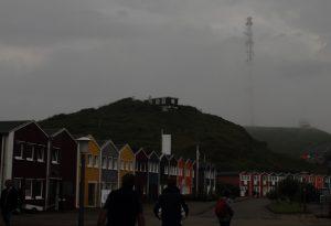 Helgoland im Nebel