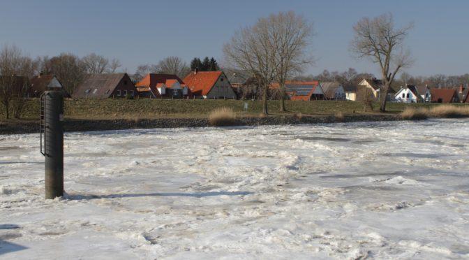 Eiszeit in Oberndorf