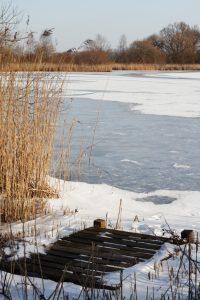 gefrorener See bei Hemm