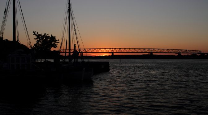 Middelfart Sonnenuntergang