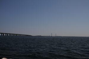 Durchfahrten der Großen Belt-Brücke