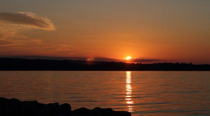 Juelsminde Sonnenuntergang